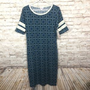 NEW Lularoe Julia patterned dress